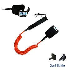 Rising Wave 10 <b>FT</b> Orange 7.0mm Coiled SUP <b>Surfboard</b> Ankle ...