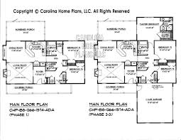 Small Expandable House Plan BS     AD Sq Ft   Small Budget    BS    Main Floor Plan