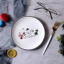 <b>Moomin</b> Platos De Madera Salad Plate Piatti Ceramica Dinner ...