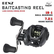 Lizard Benz Fishing Reel 19 + <b>1BB</b> Rasio <b>Gear</b> Rasio <b>Gear 13</b>: 1 ...