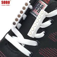 Fashion Novelty <b>Strong</b> Quick Easy Magnetic <b>Shoelaces</b> For...