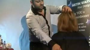metin warwick hair design hairdressing courses video dailymotion the jennifer aniston bob by metin warwick