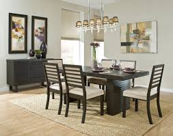 Dining Room Sets For Small Apartments Modern Walnut Dining Room Table Home Design With Black Finished