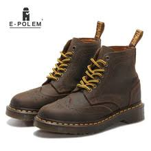 Buy ladies <b>genuine leather</b> lace up boots and get free shipping on ...