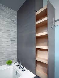 Bathroom Tower Storage 15 Smart Bath Storage Ideas Hgtv
