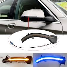 Motors 2Pcs <b>Dynamic</b> Side Mirror <b>Turn Signal</b> LED Indicator <b>Lights</b> ...