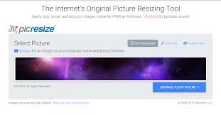 PicResize - Crop, Resize, Edit images online for free!