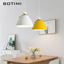 Online Shop BOTIMI <b>Nordic LED Pendant Lights</b> For Dining ...