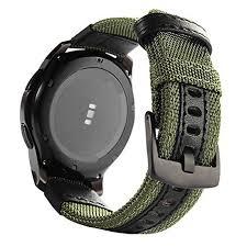Woven <b>Nylon Replacement Strap Sport</b> Wristband <b>Bracelet</b> for ...
