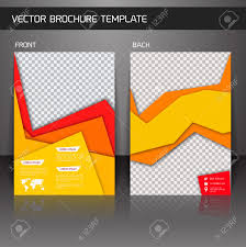 yellow business corporate design brochure flyer design template vector yellow business corporate design brochure flyer design template vector illustration
