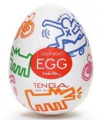 <b>Мастурбатор яйцо Tenga&Keith Haring</b> Egg Street