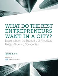 insight report reveals the top qualities that insight report reveals the top qualities that entrepreneurs look for in a city