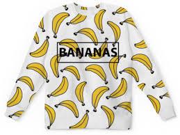 """Свитшот мужской с полной запечаткой """"Bananas"""" #2391055 от ..."""