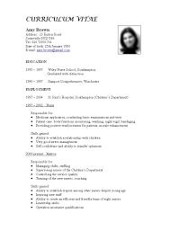 resume  format of a cv  corezume coresume cv