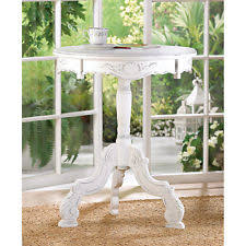 shabby chic white wood endside tablenight standkids furniture chic shabby french style distressed white