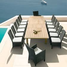 modern patio set home