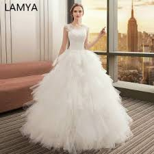 #c7b107 Buy Bridal Dress With Sleeve And <b>Crystals</b> And Get Free ...