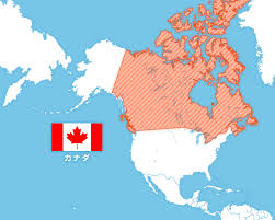 「カナダ 地図」の画像検索結果