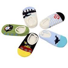 5 Pairs Newborn <b>Baby</b> Cartoon Lace Cotton Anti Slip <b>Sock</b> Slippers ...