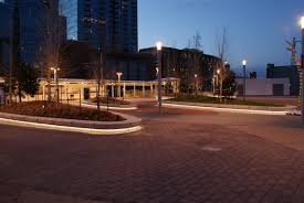 denver union station bench lighting