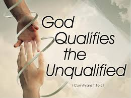 Image result for god has qualified you