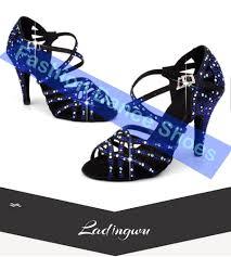 Best Sale #0df9 - Ladingwu Brand Latin Dance Shoes Woman's ...