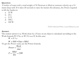 learn ap physics physics and work and energy solution