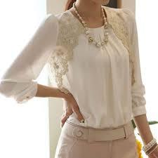 Spring Summer Elegant Women V-neck <b>Embroidered Chiffon</b> ...