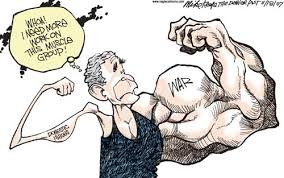 Image result for BUSH CARTOON