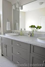 bathroom modern vanity designs double curvy set: white amp gray modern bathroom design with benjamin moore graphite bathroom vanity with double sinks calcutta gold marble countertops black beveled mirrors