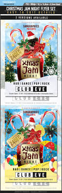 christmas party flyers premium files psddude xmas jam party club banner