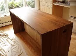 kitchen walnut edge grain
