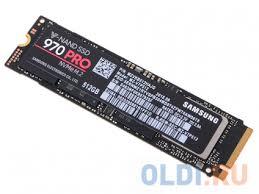 Твердотельный накопитель SSD M.2 NVMe 512GB <b>Samsung 970</b> ...