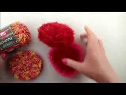 How to Crochet a <b>Heart Shaped</b> Scrubby with Scrubby <b>Sparkle</b> Yarn ...