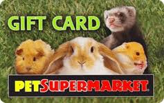 Buy Pet Supermarket Gift Cards   GiftCardGranny