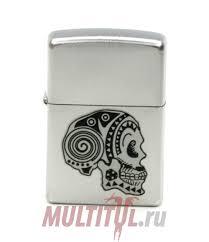 <b>Zippo 205 Tattoo Skull</b> — Купить <b>зажигалку</b> в интернет-магазине ...
