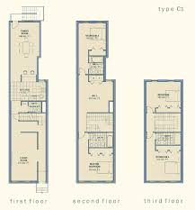 Narrow Townhouse Floor Plans Small two story rowhouse plan   ㉖    Narrow Townhouse Floor Plans Small two story rowhouse plan   ㉖  ѧ̼ʀ̼c̼н̼   Pinterest   Floor Plans  House Floor Plans and Townhouse