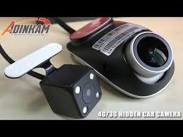 Firstscene T1 - <b>4G</b>/3G <b>Hidden Car</b> Camera support <b>Car</b> Monitor ...