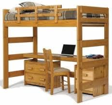 loft bed with desk top multitask functional twin loft customizable bedroom set in honey bunk bed desk