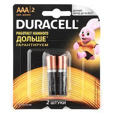 <b>Батарейка</b> LR3 <b>ААА</b> 2 шт Duracell купить недорого в интернет ...