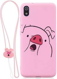FNBK Compatible with <b>Xiaomi Redmi</b> 7A <b>Case Solid</b> Color Painting ...