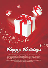 printable christmas party invitations templates demplates happy holidays postcard ·