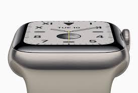 <b>Умные часы Apple Watch Series</b> 5 получили постоянно активный ...