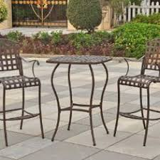 this is one of the top 5 the international caravan santa fe wrought iron bar height bistro set you can review them all here alexandria balcony set high quality patio furniture