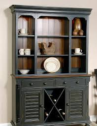 rustic hutch dining room: with desk for modern interior design ideas