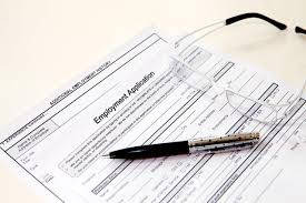 how to fill out a job application glasses pen and job application form