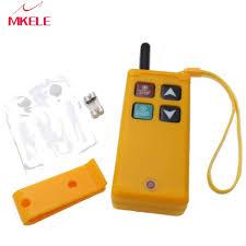 <b>Industrial Hoist Wireless Radio</b> Remote Controller Switch For Crane ...
