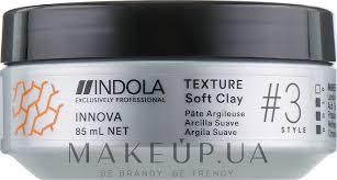 Indola Texture Soft Clay - <b>Глина для волос легкой</b> фиксации ...