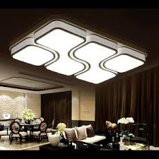 led integrated lighting unique rectangle flush mount ceiling lights cheap ceiling lighting
