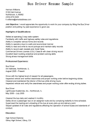 bus driver cover letter resume com 15 bus driver cover letter sample job and resume template